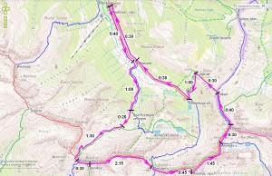 trasa Rohace Hrebenovka